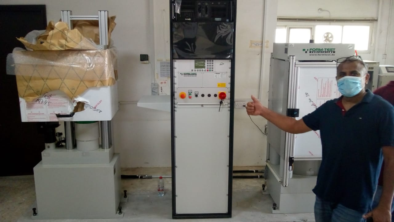 CTM installation in Sharjah Municipality